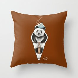 That's not an icecream cone Throw Pillow