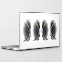 penguins Laptop & iPad Skins featuring Penguins by AmDuf