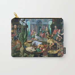 Christ in the House of Martha and Mary by Pieter Aertsen (1553) Carry-All Pouch