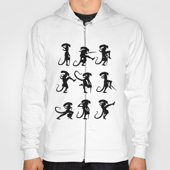 Ministry of Alien Silly Walks Hoody