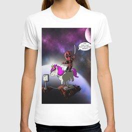 Chibi Dead Pool (Space) T-shirt