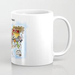 The World as we know it Coffee Mug