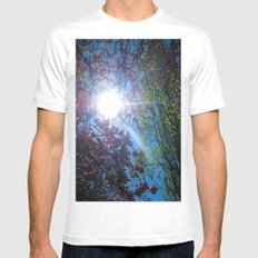 Light up my Life MEDIUM White Mens Fitted Tee
