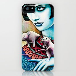 Diana and the Rats iPhone Case