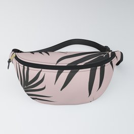 Palm Leaves Pattern Summer Vibes #3 #tropical #decor #art #society6 Fanny Pack