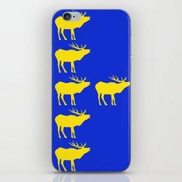 Graphic Swedish Elk Flag III iPhone Skin