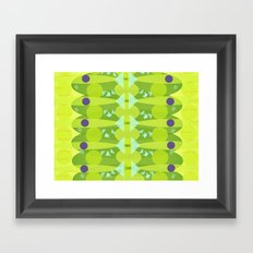 Chinese fish Framed Art Print