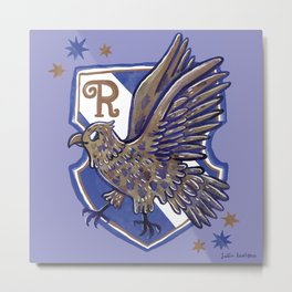 Ravenclaw House Crest Metal Print