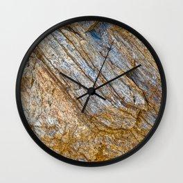 Stunning rock layers Wall Clock