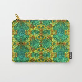 Organic Life Pattern Carry-All Pouch