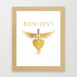 BON JOVI 01 Framed Art Print
