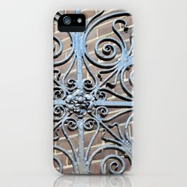 Swirls iPhone Case