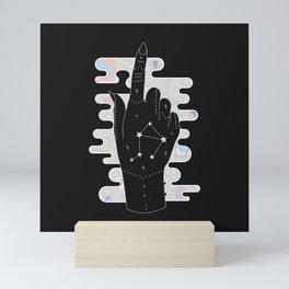 Libra - Zodiac Illustration Mini Art Print