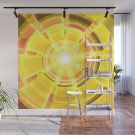 Golden Scope Wall Mural