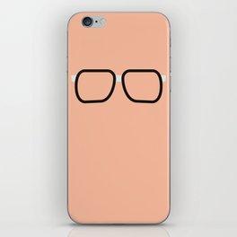 Glasses 2 iPhone Skin