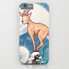 Winter Goat iPhone Case