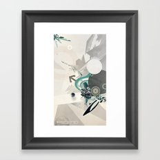ASCEND (version zero) Framed Art Print