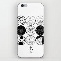 circles iPhone & iPod Skins featuring Circles by LSjoberg