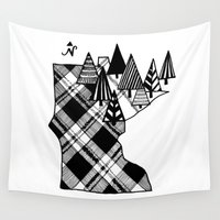 minnesota Wall Tapestries featuring Minnesota Love by cmbringle