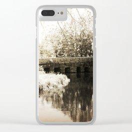 Stone Bridge Clear iPhone Case