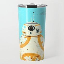 """BB-8 with Star Destroyer"" by Showdeer Travel Mug"