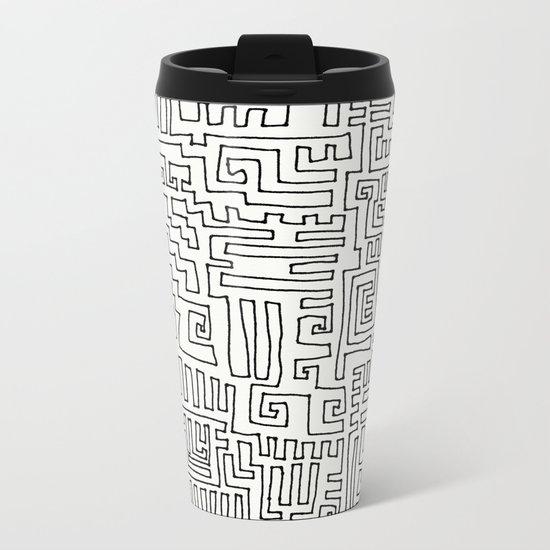 Short Cut Metal Travel Mug