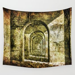 Ancient Arches Wall Tapestry