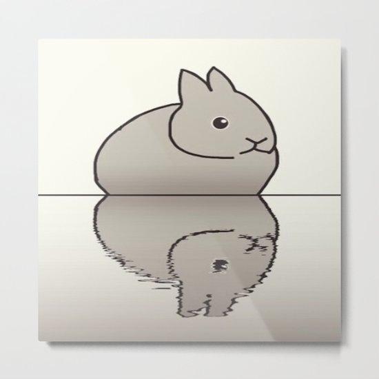 rabbit-15 Metal Print