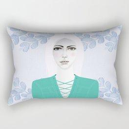 Army Girl Rectangular Pillow