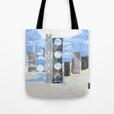 In Between Sea & Sky Tote Bag