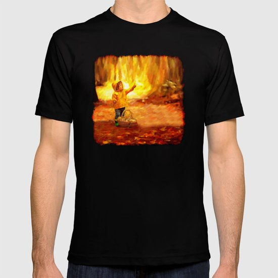 The Little Collector - Painting Style T-shirt