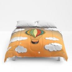 Balloon Aeronautics Dawn Comforters