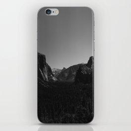Tunnel View, Yosemite National Park iPhone Skin