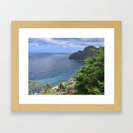 Sea View from La Gomera Framed Art Print