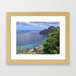 Sea View from La Gomera Framed Art Print