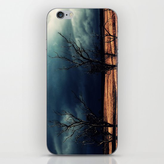 The relief of an Aussie drover iPhone Skin