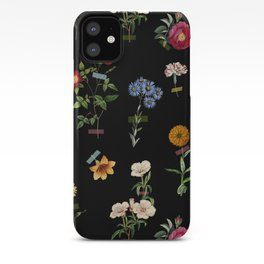 Vertical Garden (Black) iPhone Case