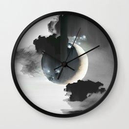 Cloud Falls Wall Clock