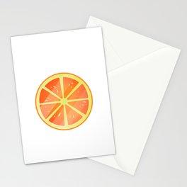 Orange Fruit Stationery Cards