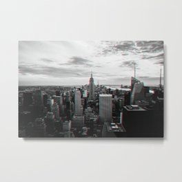 New York City in 3D Metal Print