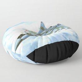 Mig29 Fulcrum Floor Pillow