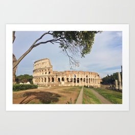 Colosseo a Roma Art Print