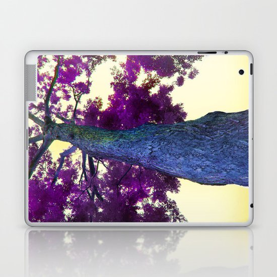 blue tree Laptop & iPad Skin