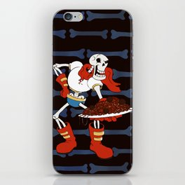 Papyrus and his Spaghetti iPhone Skin