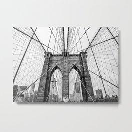 Crossed Wires Metal Print