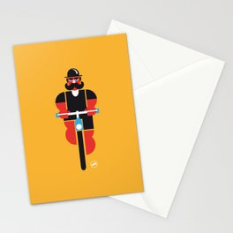 Bicycle Man Stationery Cards