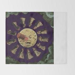 Dancing on the Moon Throw Blanket