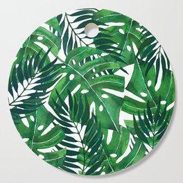 Jungle leaves Cutting Board