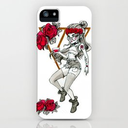 Hipster Vampire iPhone Case