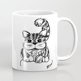 Unlikely Friends :: Cat & Mouse Coffee Mug
